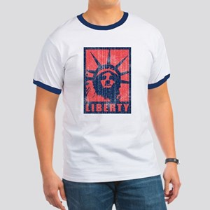 Liberty [Red&Blue] Ringer T